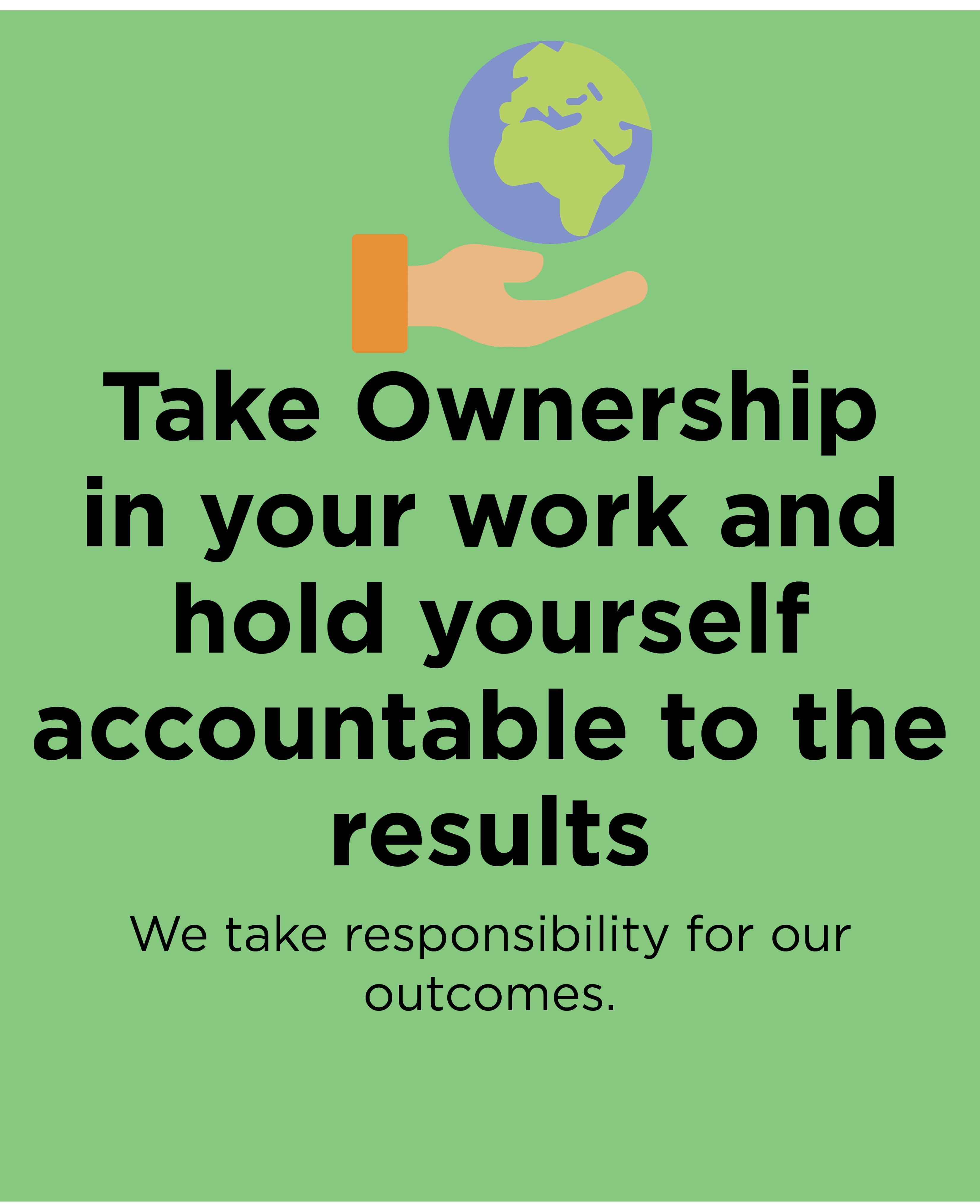 Take Ownership in your work - Batten and Shaw